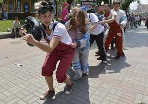 новини Києва - святкування Днів Києва - відбулися несанкціоновані акції прихильників гей-руху