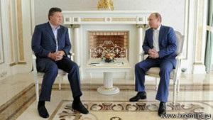 Янукович перед засіданням ЄврАзЕС полетів до Путіна