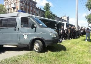 Новини Києва - гей-парад - У оточенні міліції. Марш рівності в Києві тривав близько півгодини