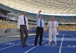 Киев претендует на проведение чемпионата Европы по легкой атлетике