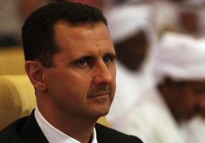 Сирія - Асад категорично проти зовнішнього втручання