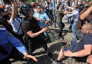 Експерти DW: вуличні бійки - репетиція виборчої кампанії