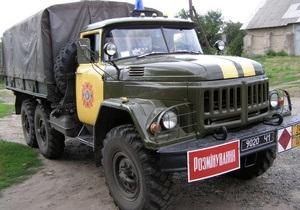 Новини Харківської області - міна - У Харківській області на території школи знайшли мінометну міну