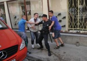 Президента Карпат арестовали за обливание водой