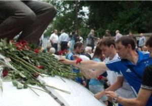 У Києві вшанували пам ять Валерія Лобановського