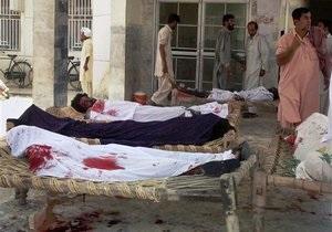Кількість жертв вибуху в Пакистані зросла до десяти осіб