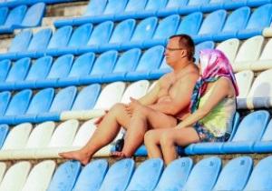Фотогалерея: Як уболівальники і пташки на київський Арсенал ходили