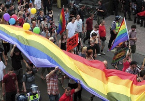 Київ - гей-парад - У травні в Києві відбудеться гей-прайд