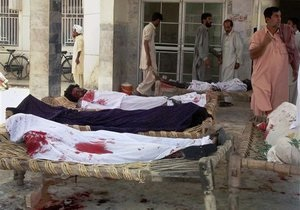Пакистан - теракт - жертви