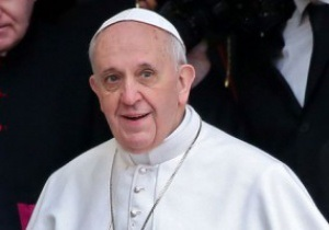 Папе римскому подарили футболку Хавьера Дзанетти
