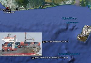 В Африці пірати атакували німецьке судно і захопили у полон українців