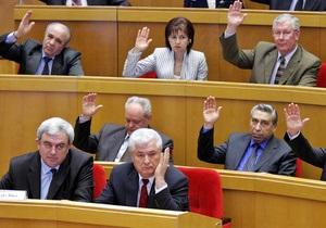 У Молдові з ініціативи комуністів голова парламенту був відправлений у відставку