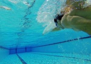 Кличко - тренування - басейн - фотогалерея