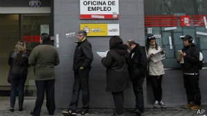 Безробіття в Іспанії сягнуло рекордної позначки