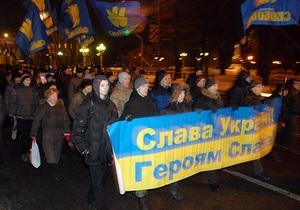 Польща - сейм - ОУН-УПА - націоналісти - Свобода - Добкін