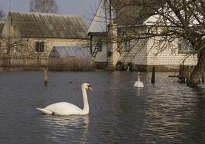 Погода в Україні - підтоплення - Кульбіда: Рівень води у підтоплених регіонах почне спадати
