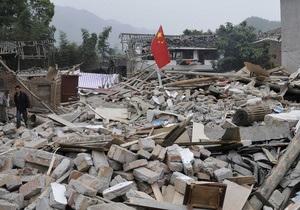 У Китаї стався новий землетрус. Кількість жертв стихії перевищила 200