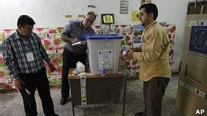 Іракці голосують на місцевих виборах