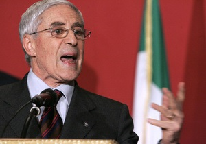 Новини Італії - Вибори - Основним кандидатом на посаду президента Італії став 80-річний політик