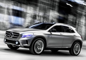 Mercedes-Benz GLA - авто - кросовер