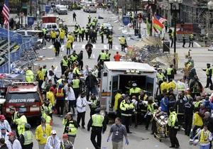 Кількість постраждалих від терактів у Бостоні зросла до 183 людей