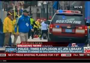 Вибухи в Бостоні - теракт в Бостоні - відео - CNN: У Бостоні загинув восьмирічний хлопчик