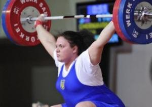 Тяжелая атлетика. Украинки добыли золото и бронзу чемпионата Европы в одной категории