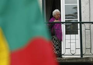 Криза єврозони - новини Португалії - Португалії буде важко уникнути повторного звернення за фіндопомогою – FT