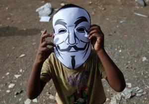 Anonymous атакував понад сто тисяч ізраїльських сайтів