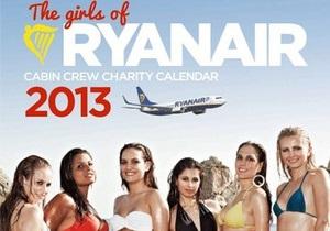 Лоукост Ryanair - дешеві авіаквитки - Найбільший європейський лоукост хочуть покарати за еротичний календар
