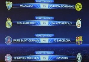 Ліга чемпіонів: Результати всіх матчів 1/4 фіналу