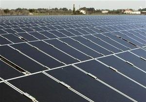 Україна наростила потужність сонячних електростанцій у два рази