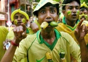 В Бразилии болельщики подрались из-за билетов на футбол