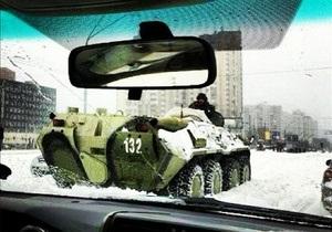 У Києві знову заборонили в'їзд великогабаритного транспорту