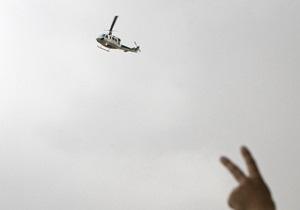 Падіння вертольота у Москві: перевірка не підтвердила повідомлень очевидців