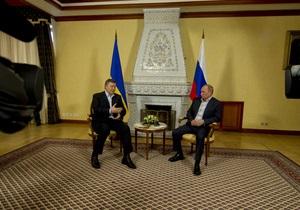Янукович - Путін - Янукович готує новий візит до Росії