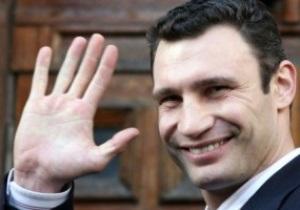 Виталий Кличко: Моя боксерская карьера подходит к концу