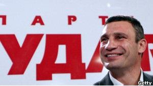 ВВС Україна: Кличко в пошуках свого  обличчя