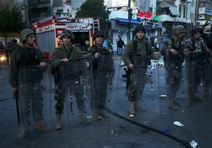 На півночі Лівану тривають запеклі бої, в Тріполі відключений стільниковий зв язок