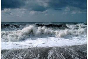 Негода в Україні - В Азовському і Чорному морях очікується шторм - МНС РФ