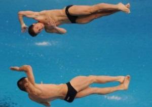 Украинцы завоевали серебро на этапе Мировой серии по прыжкам в воду