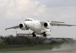 ГП Антонов - Украинский авиагигант начал испытания первого экземпляра реактивного пассажирского самолета