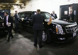 Ахмадінеджад - охоронець Буша - постріл