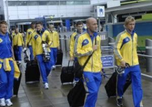 Сборная Украины отправилась в Варшаву на игру с Польшей