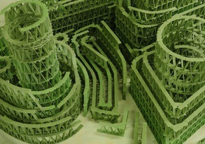 У Франції художник створив скульптуру з чотирьох тисяч м ятних жуйок