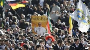 На інтронізації Папи Франциска очікують до мільйона людей