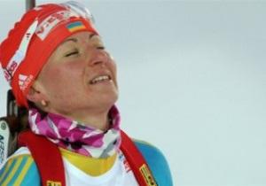 Биатлон. Вита Семеренко упустила бронзу в последней гонке сезона