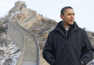 Обама привітав Сі Цзиньпіна з призначенням