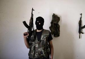 ЄС- Сирія - постачання - зброя