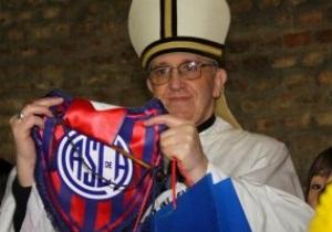 Новый Папа Римский Франциск I оказался болельщиком аргентинского Сан-Лоренсо